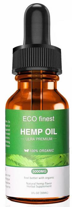 ECO Finest Ultra Premium Hemp Oil